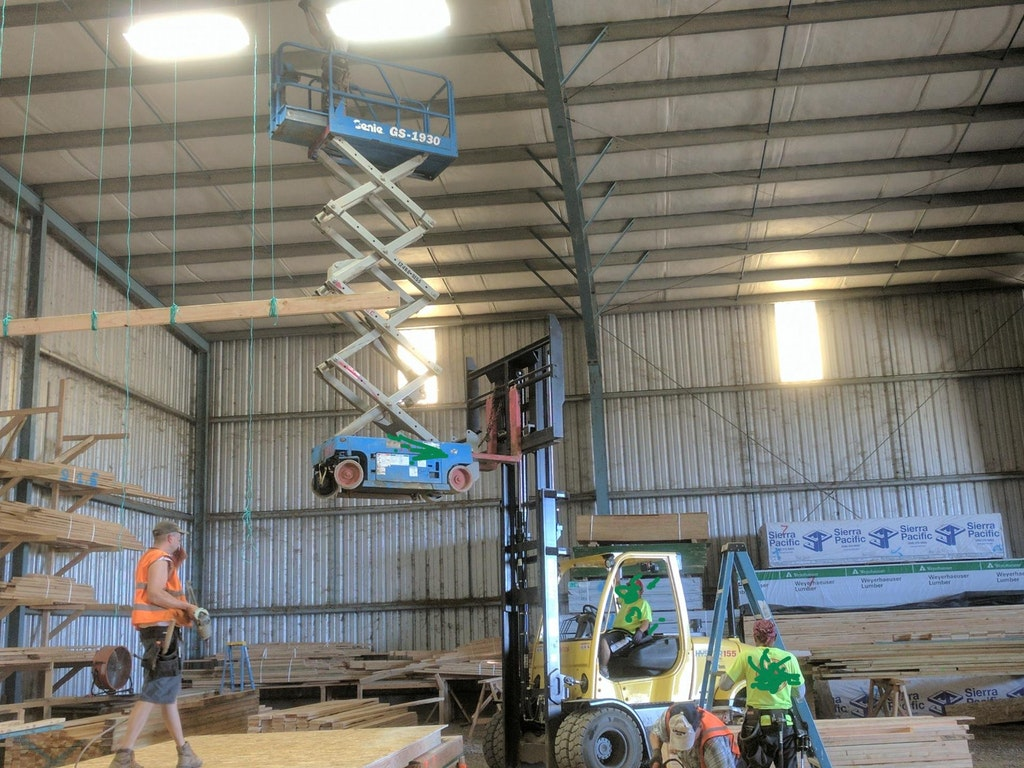 aerial lift madness